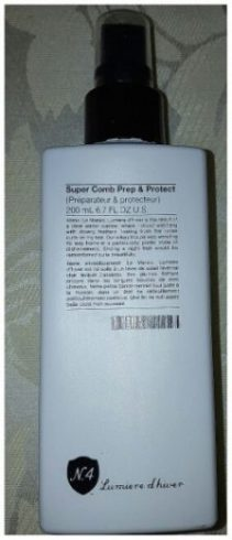 Spray protecteur Number 4 de my sweet beauté