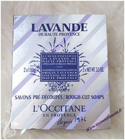 Savon exfoliant l'Occitane my sweet beauté