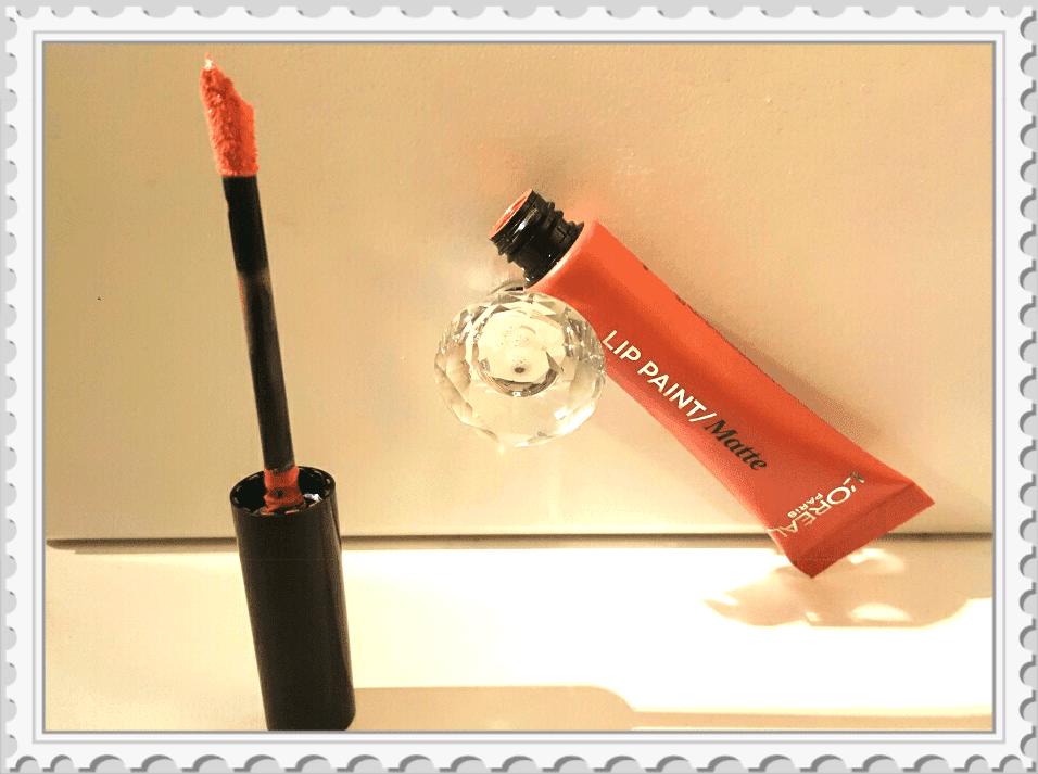 nouveaux mats lip paint l'Oréal