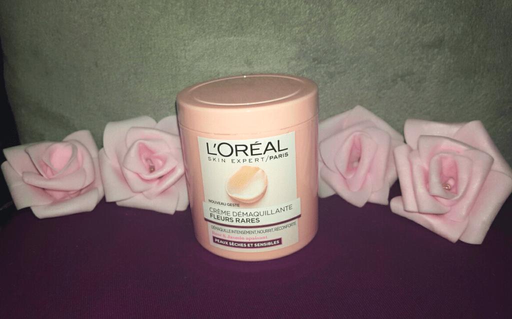 Crème démaquillante l'oréal de my sweet beauté