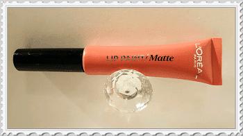 Lip paint Matte l'Oreal avis
