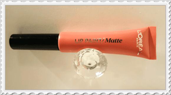 Lip paint Mat l'Oreal avis