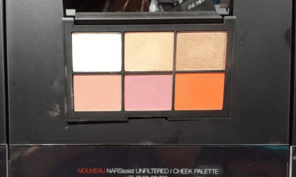 Palette blush Nars