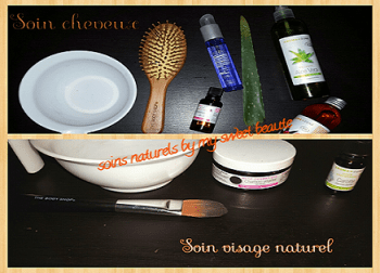 Routine naturelle de my sweet beauté