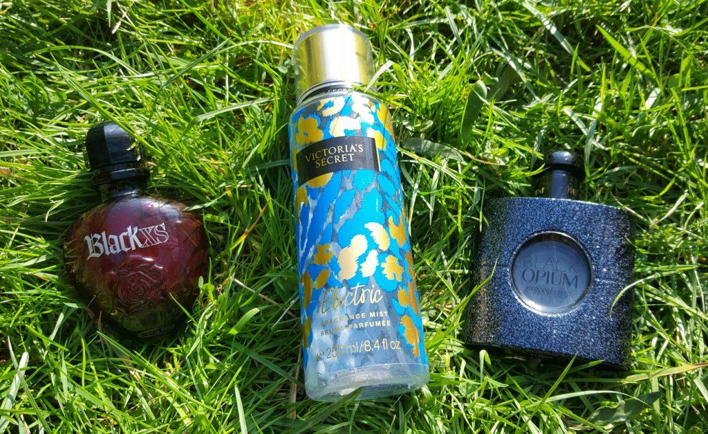 Parfum black opium brume victoria's secret et parfum black XS
