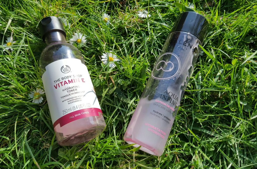 Tonique visage galénic et the body shop avis
