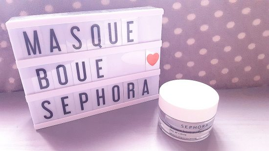 Masque boue Sephora