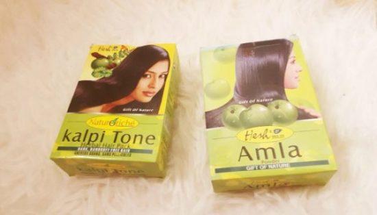 astuce miracle cheveux longs avec les poudres indiennes