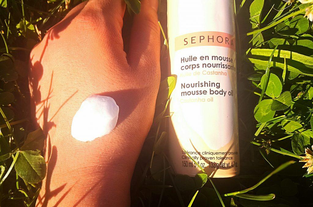 la mousse nourrissante Sephora avis