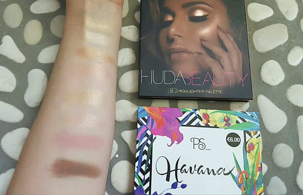 Mes palettes d'highlighters  my sweet beaute