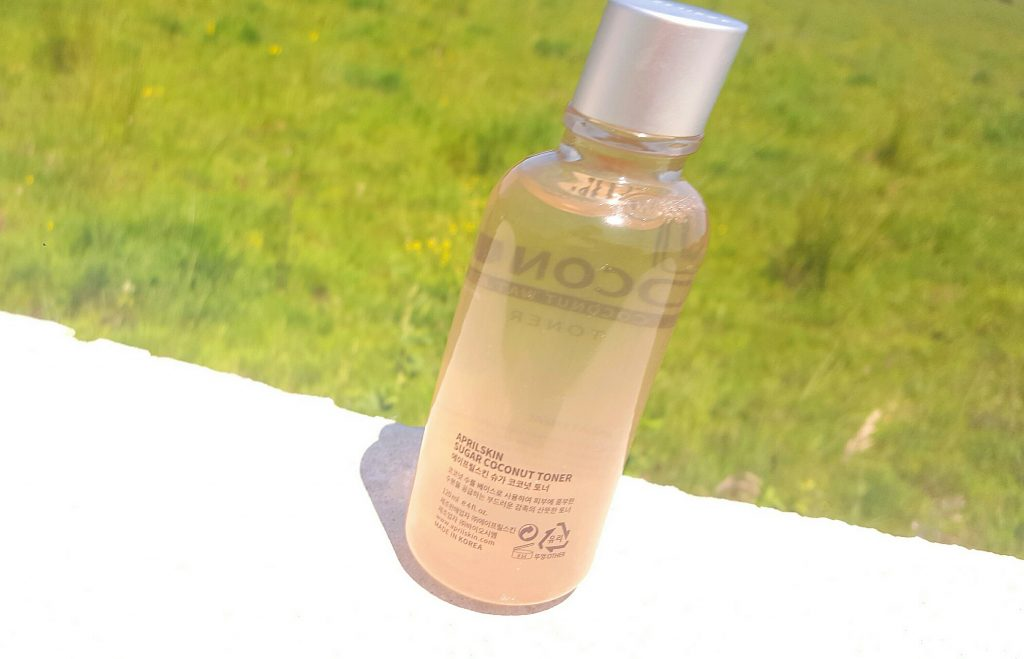 April skin sugar coconut toner skin care