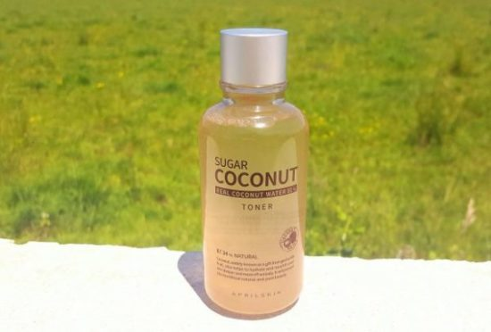 Avis toner sugar coconut aprilskin
