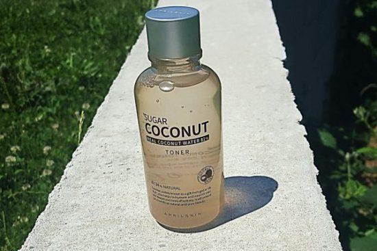 Avis tonique visage april skin Toner sugar coconut my sweet beauté