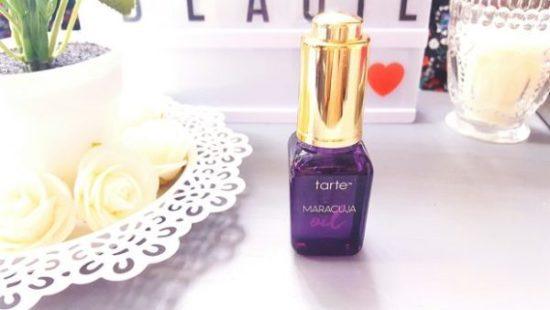Huile Maracuja de Tarte cosmetic pour une peau visiblement meilleure ?