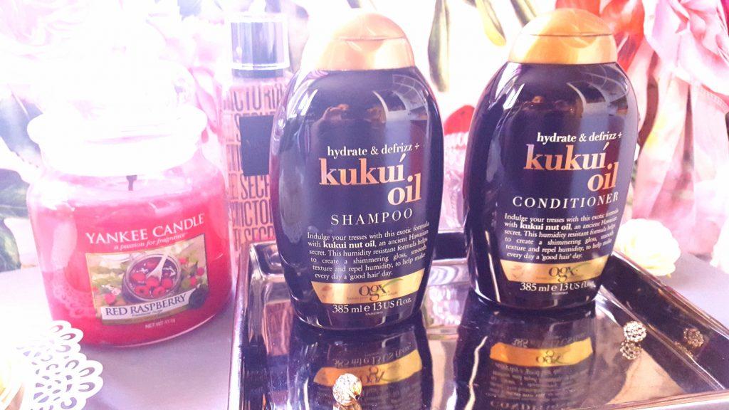 Avis marque OGX huile de kukui