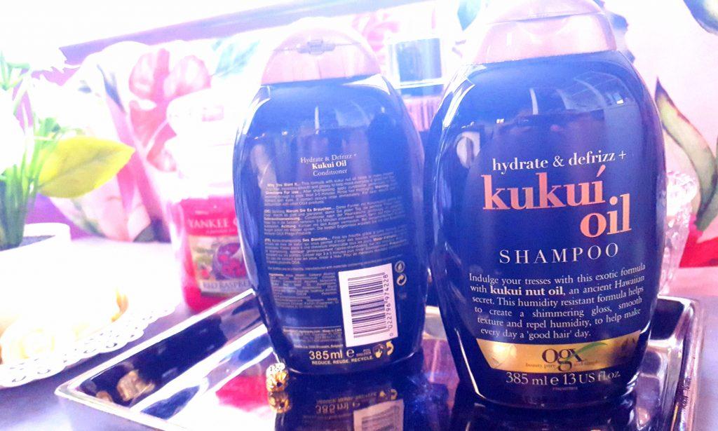 OGX huile de kukui cheveux