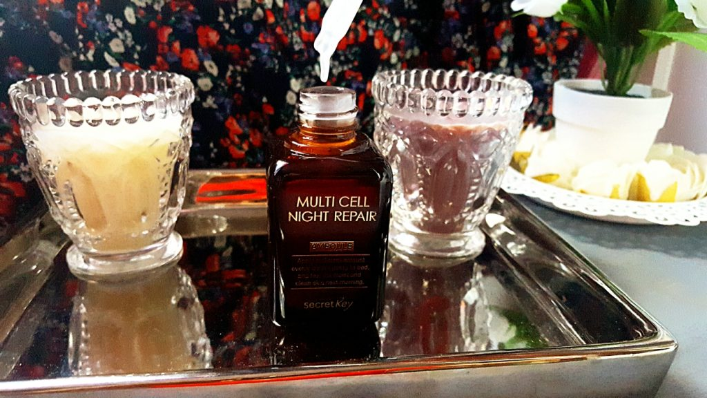 Avis secret key MULTI CELL NIGHT REPAIR ampoule