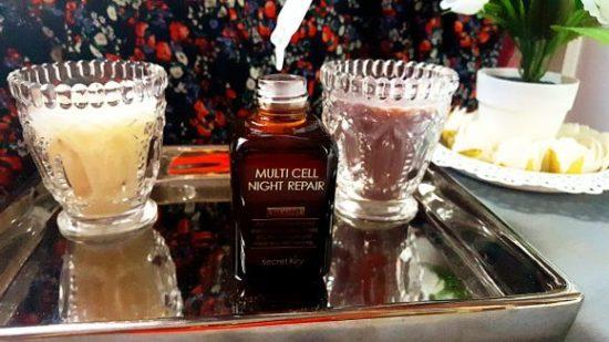 Avis secret key MULTI CELL NIGHT REPAIR ampoule