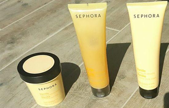 Gamme Sephora à la vanille