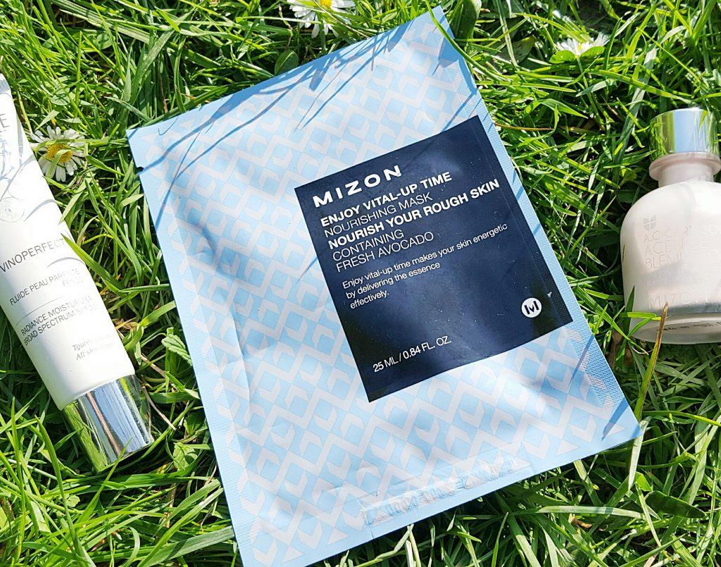 Avis masque tissu hydratant Mizon