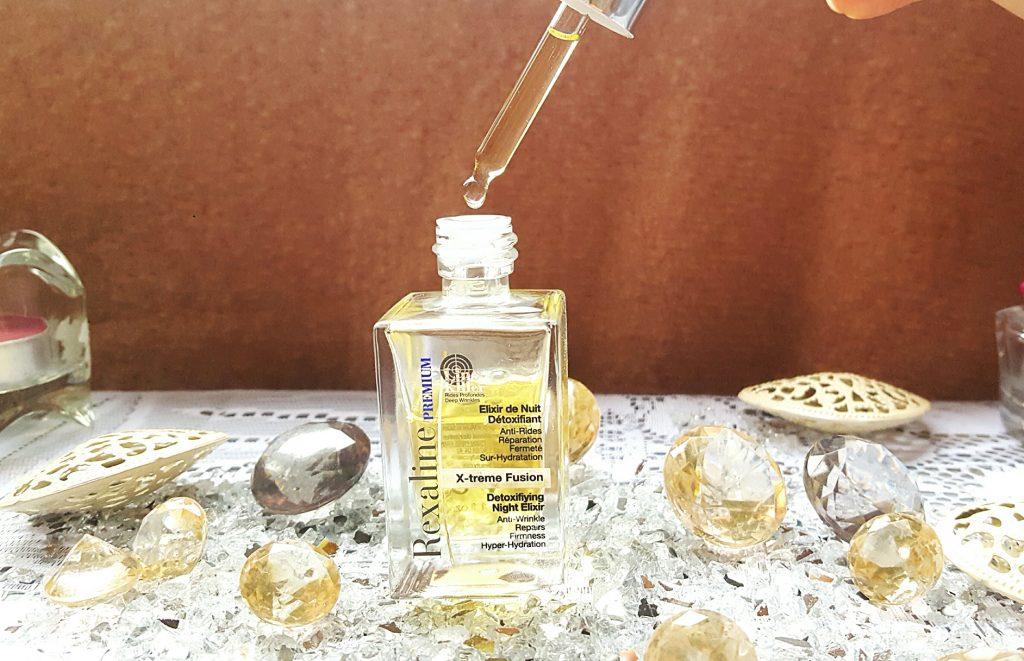 Elixir de nuit rexaline routine beauté