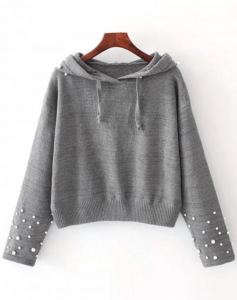 Pull à perles wishlist zaful