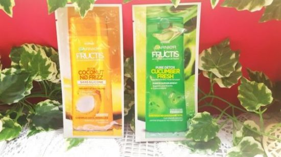 Deux nouveaux shampoing garnier fructis avis