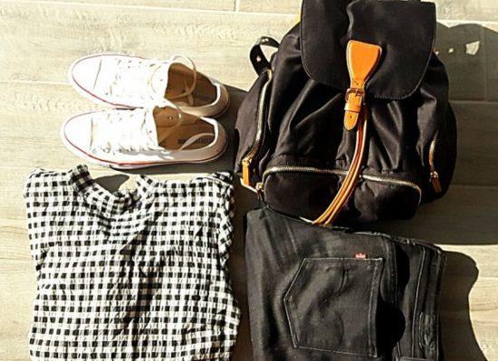 Sac à dos hetm jeans levis converse idée tenue hiver automne
