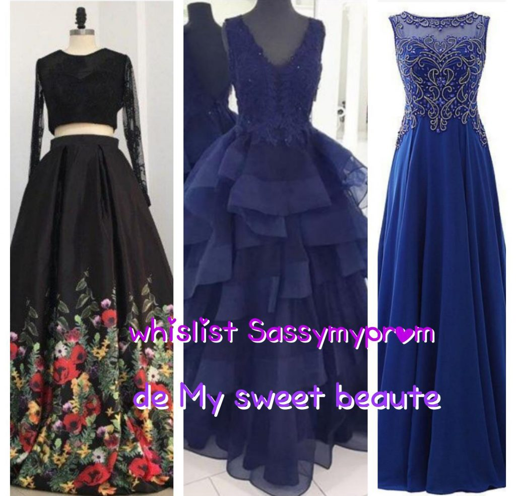 Wishlist sassymyprom de my sweet beauté fashion