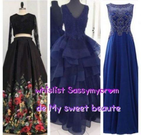 Wishlist sassymyprom de my sweet beauté fashion