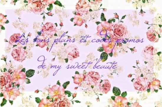 bon plans codes promos my sweet beauté mysweetbeaute