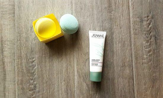 jowae kiko test de la creme hydratante
