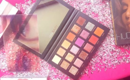 palette 2018 huda beauty desert dusk beauté bloggeuse francaise