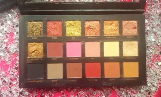 palette yeux rose gold edition