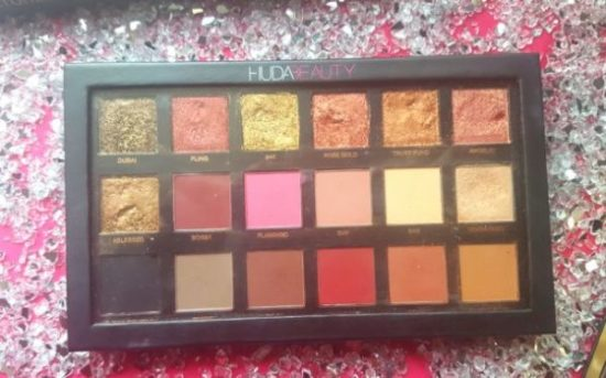 edition rose gold huda beauty huda beauty love