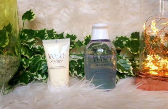 Test nouveaux produits Shiseido avis lotion hydratante et gel lavant exfoliant