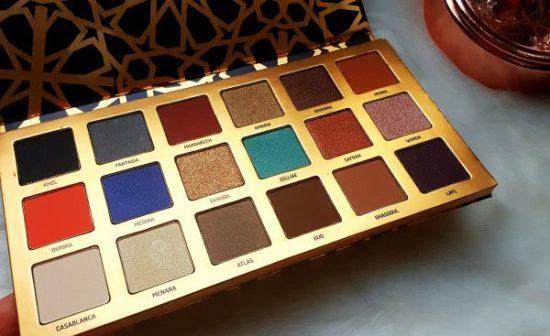 fards pigmentés maroccan palette