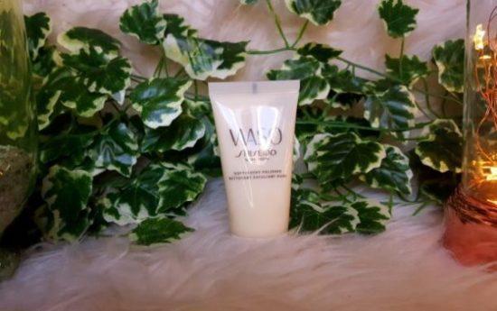 gel exfoliant doux waso de shiseido sephora avis test gel exfoliant peau douce