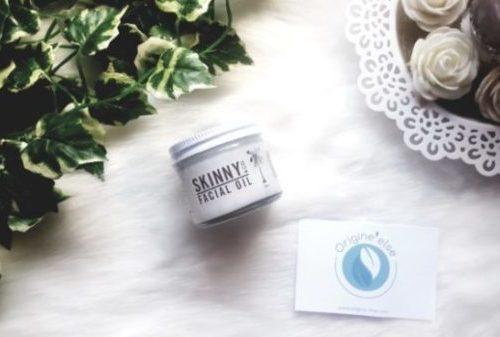 Avis crème visage Skinny&Co origine Else test huile de coco raw