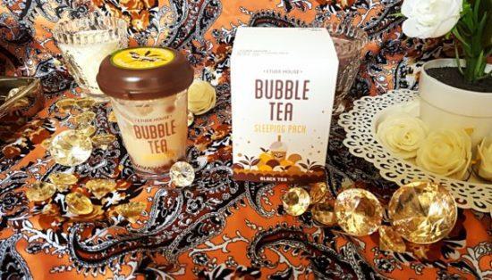 Avis produit coréen etude house bubble tea