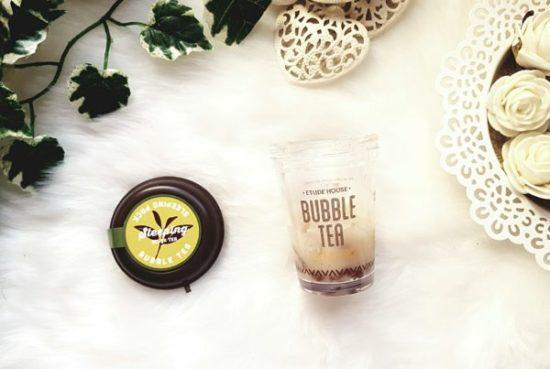 Etude House bubble tea avis beauté coréenne