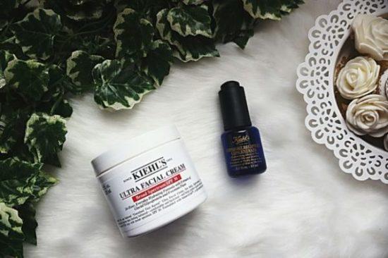 Revue Kiehl's : la crème ultra hydratante et le sérum midnight