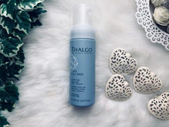 thalgo mousse micellaire visage peau sensible