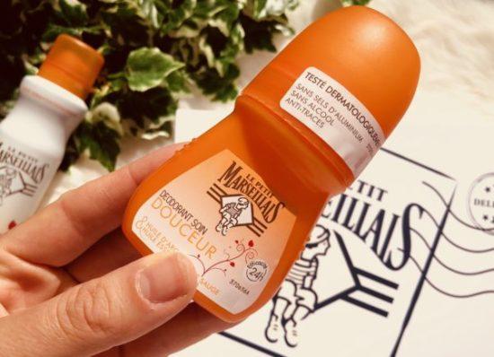 Déodorant soin bille à l'huile d'argan