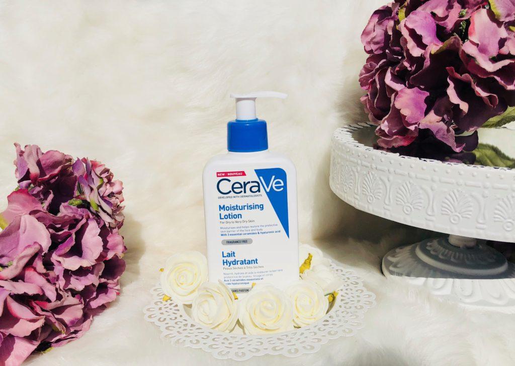 My sweet beauté test le lait hydratant pour toute la famille Cerave peaux sensibles