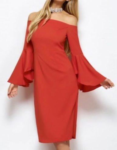 Robe crayon de soirée Zaful rouge