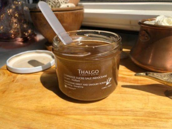 Thalgo produit offert test d'un gommage hydratant lissantThalgo produit offert test d'un gommage hydratant lissant