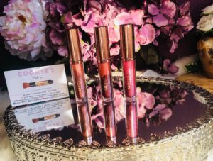 My sweet beauté test lipgloss cookie's makeup