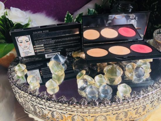 palette sculpting Cookie's Makeup