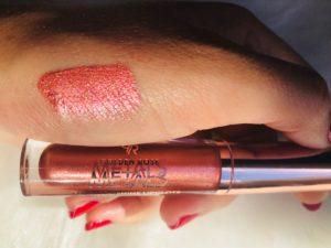 Pink Nude cookie's makeup